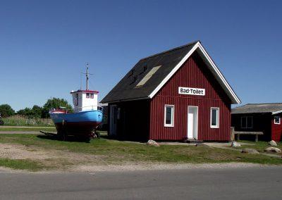 Den gamle servicebygning,