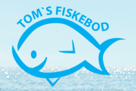 Logo for Toms fiskebod