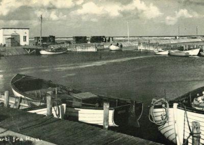 Hou Havn omkring 1955